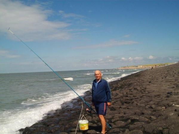 De gebroeders, vissen aan de Baaiweg