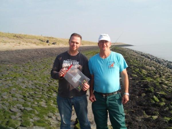 Jan, Nico en Johan, vissen aan Waarde