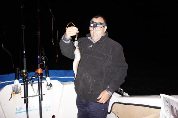 Tong vissen in de Voordelta, Lucky Luc en Didier