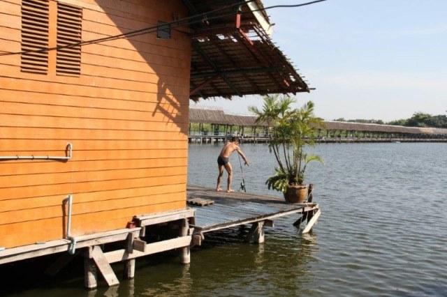 Ronny , vissen in Thailand