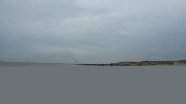 Wedstrijdvissen aan het Nollestrand