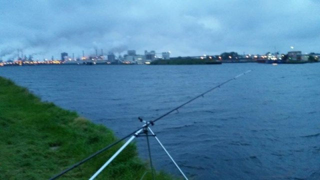Vissen aan de Waalhaven, Gijs
