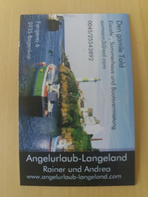 Kantvissen aan Zuid-Langeland(Denemarken)