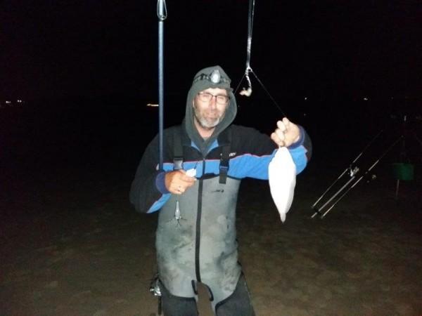 Jack Peelman, vissen op tong en zeebaars
