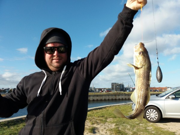 Kantvissen aan Nyborg, met Jordi