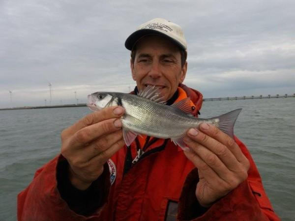 Vissen aan de Keerring met Frank