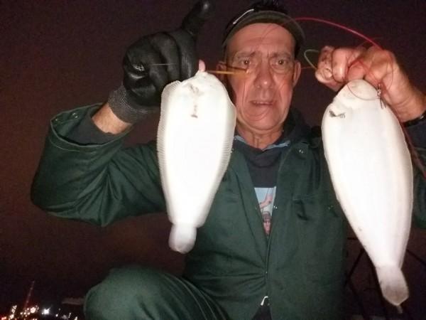 Op de Botlek, vissen op Tong, zei de gek