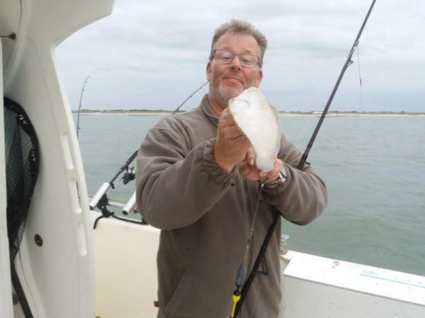 Op tong vissen, Westerschelde, met de Waypoint