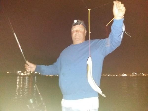 Op tong vissen in de Waterweg