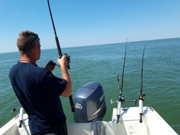 Tom en Jeroen, vissen Voordelta