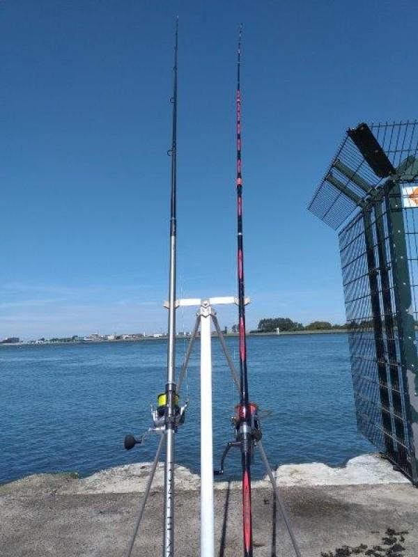 Leen, vissen aan de Kering