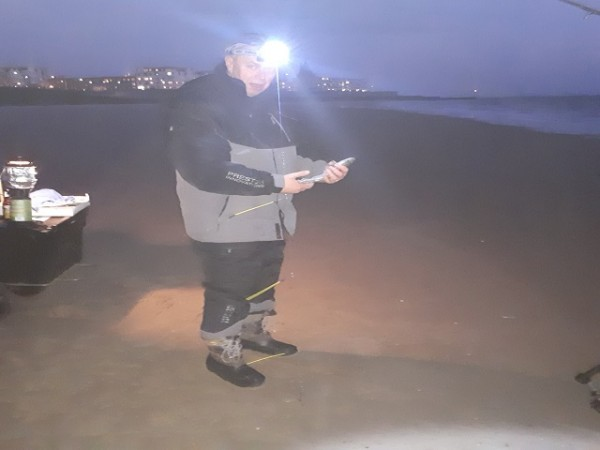 Nico en Johan, strandvisserij Vlissingen