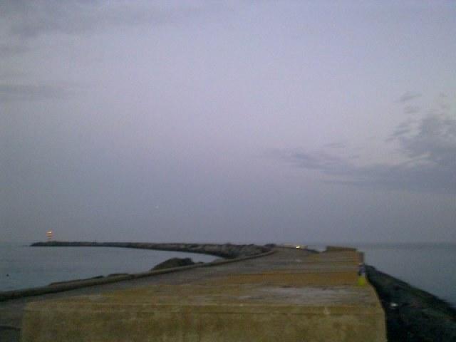 De Meunenmaaier aan de Noorderpier, Wijk aan Zee