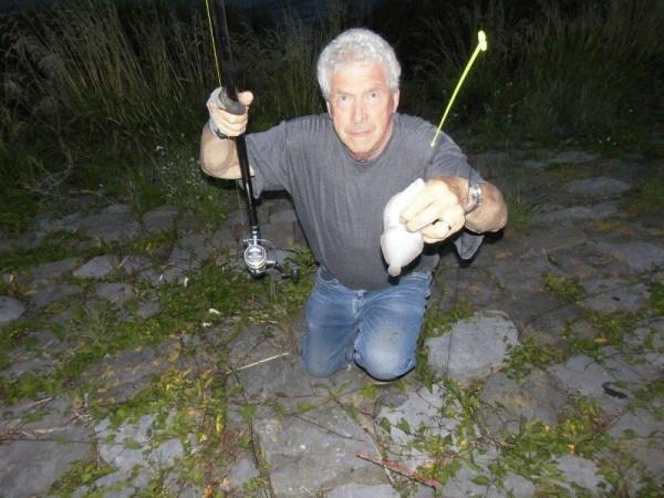 Henry en Jack, vissen aan de Botlek