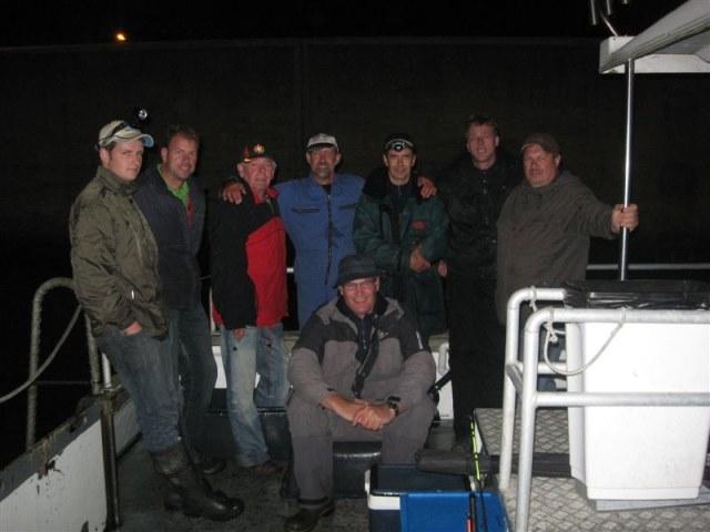 Avondvisserij met Northseacharters