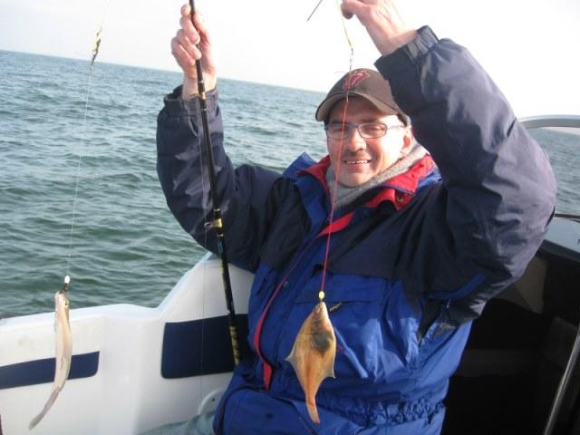 Bootvissen met Johan