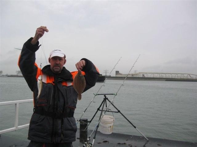 Vissen op het Ponton