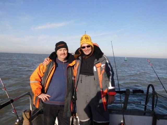 Ankervissen met Pierre