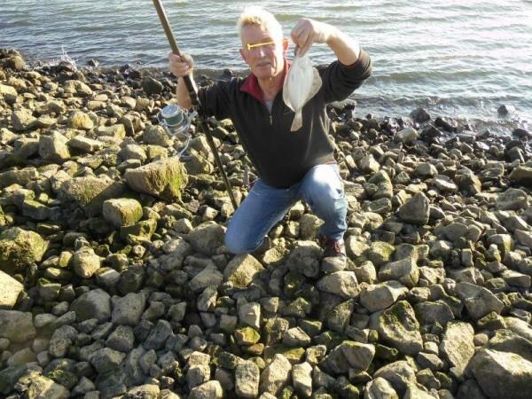 (Winter)Vissen aan de Waterweg