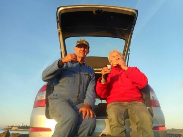 Weekje kant vissen, in Nyborg, met Jack Jozen