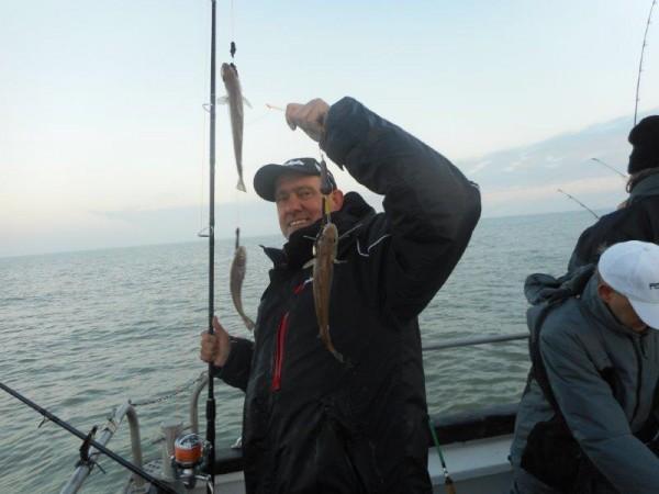 Vissen in de Voordelta, met uitloop naar het donker