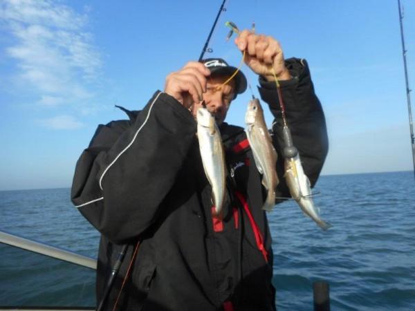 Met eigen boot, samen met Jordi, buitengaats