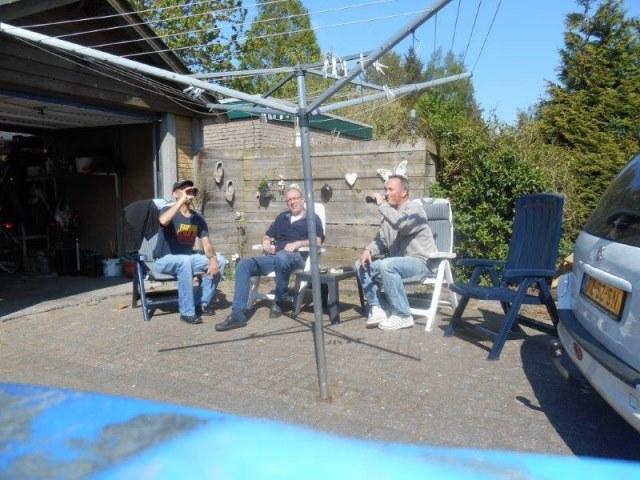 Zoutelande, met Werner en Yuri