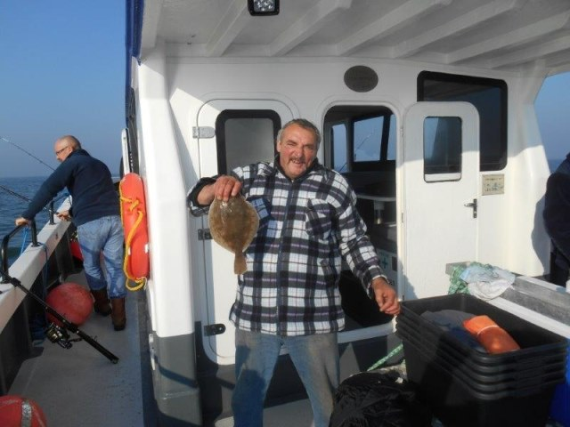 Vissen vanuit Nieuwpoort, met de Eva-merlijn