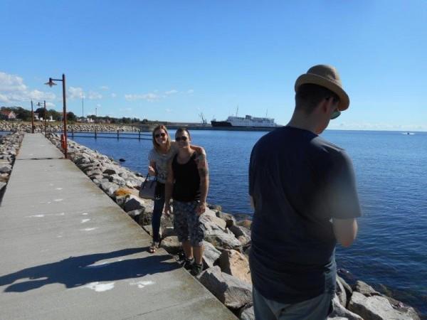 Familie (Vis)Vakantie te Nyborg, Denemarken