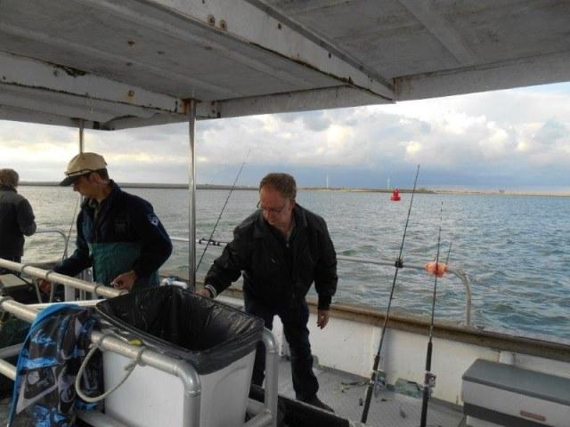 Nachtvissen met Northseacharters en vrienden