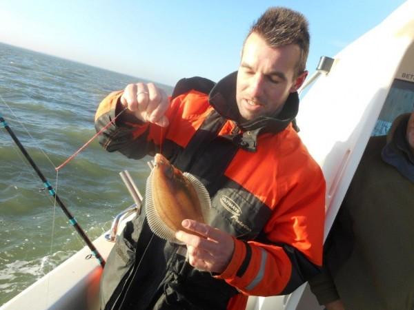 Ankervissen met de Waypoint, sponsortocht Fishguppy