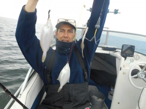 Volop vis in de Voor delta, met Frank