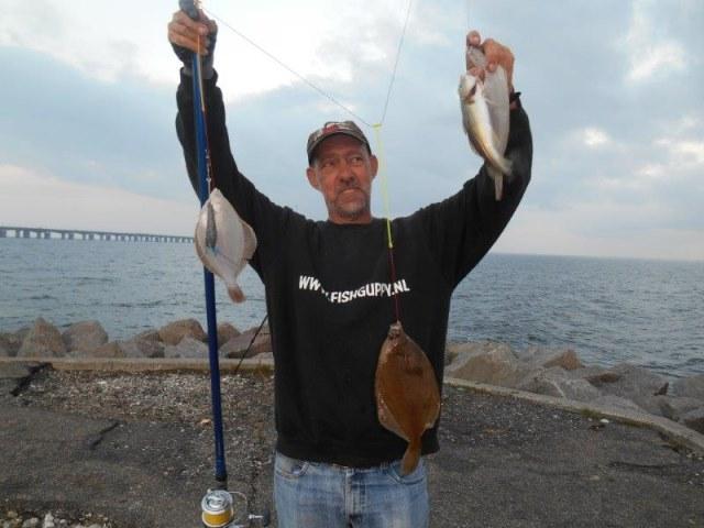 Samen met Leon naar Nyborg(Denemarken), kantvisserij