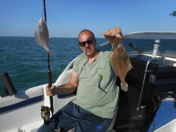 Vissen met Paul in de Voordelta