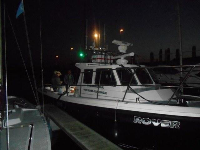 Sponsor tocht met Rover-seafishing