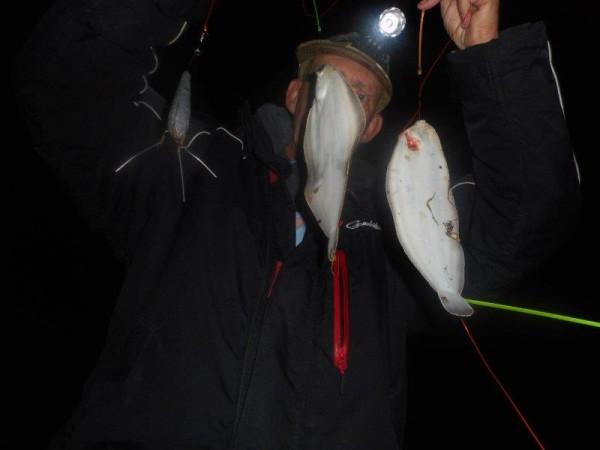Frank en Peter, vissen aan