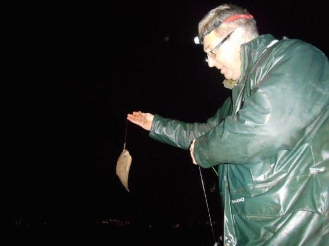 Tongvissen in de Waterweg met Ron Tak
