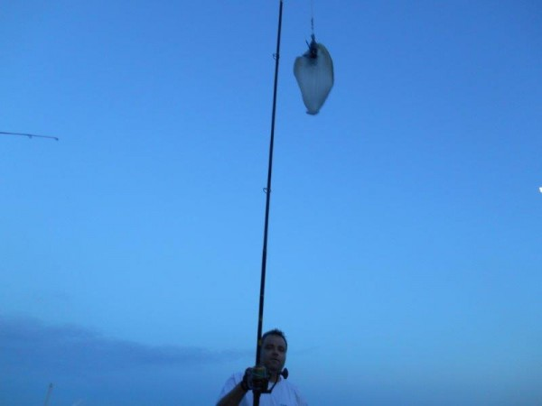 Vissen op Tong, samen met Leon Beeke