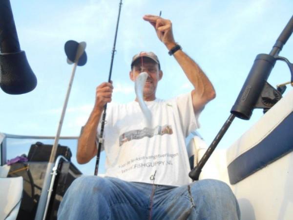 Vissen in de Voordelta met Rob Slingerland