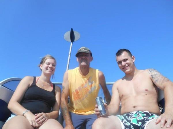 Vissen en zwemmen, met Romy En Kevin