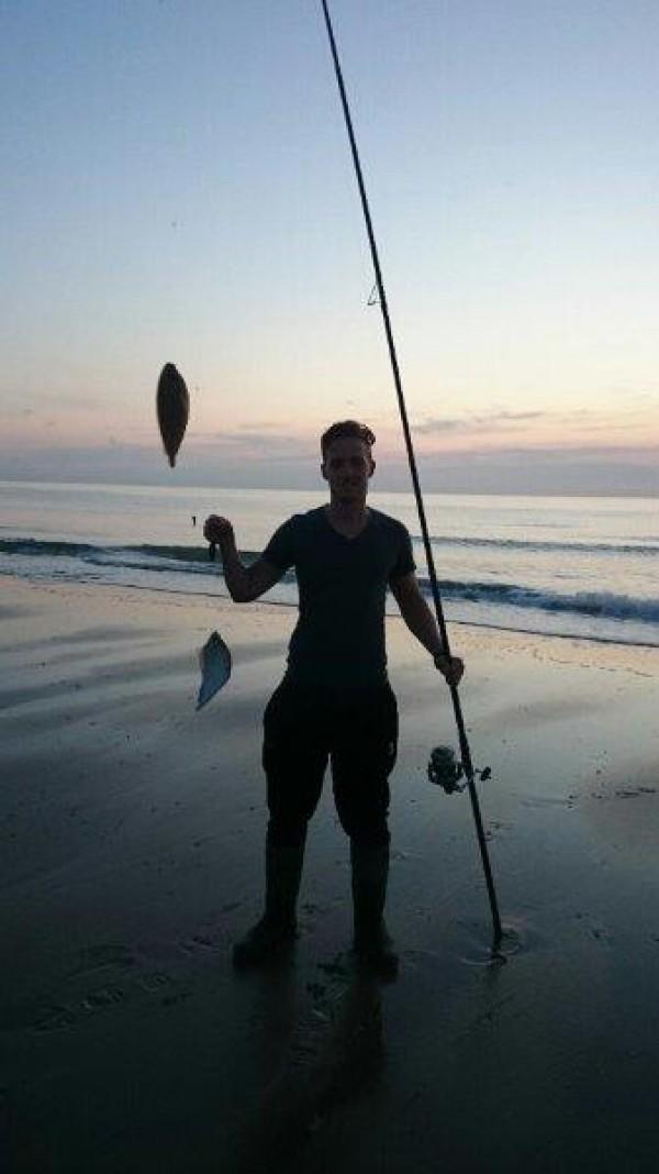 Vissen aan Domburg, Rob Slingerland en Glenn