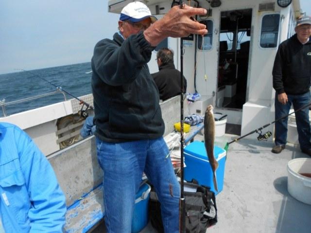 Ankervissen met de dinsdagploeg