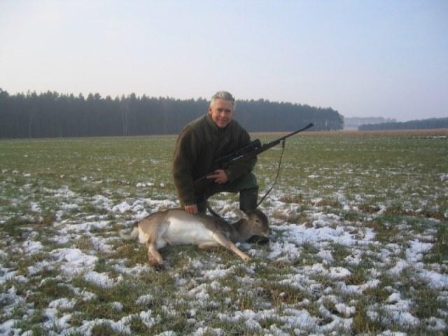 Weekje jagen, met Johan