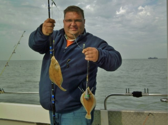 De dinsdag ploeg met de Big Marlin