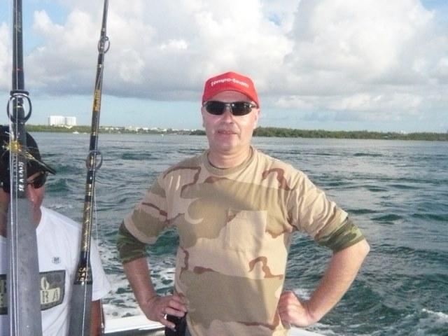 Big-Game in Miami met Ronny
