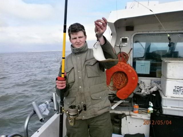 Ankervissen met Wiesje vanuit Vlissingen