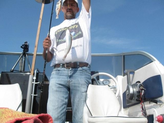 Even een middagsessie met de boot