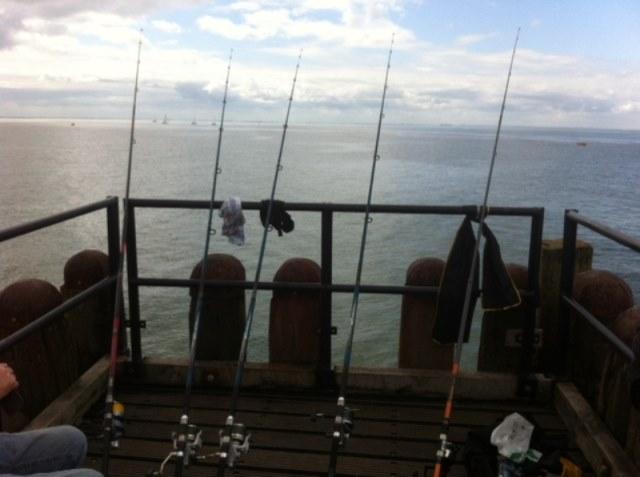 Arno op visvakantie in Zeeland