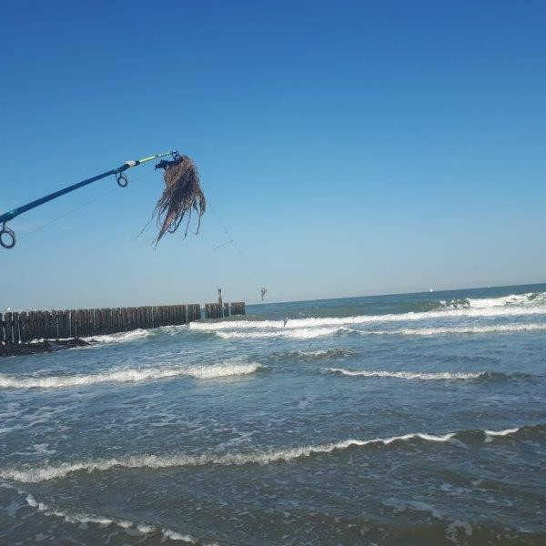 Nico, vissen aan de Baaiweg