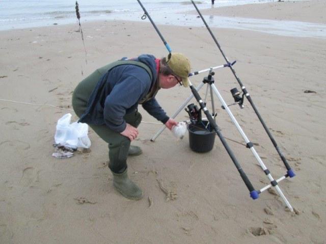 De 3 Limburgers, vissen in de Europoort en Zeeland